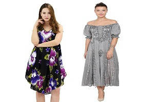 Image for 3 Ways to Style a Tie Dye Beach Dress with ID of: 4881062