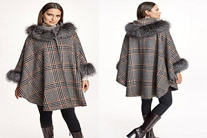 Image for How To Wear an Elegant Piece of Black Fur Trim Coat Casually with ID of: 4988338